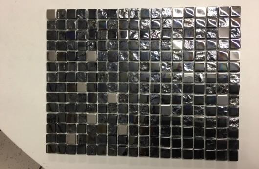 Mosaico Acero