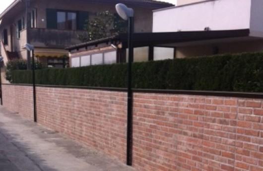 Muretto Mattone cotto 31x62 gres rivestimento interno ed esterno