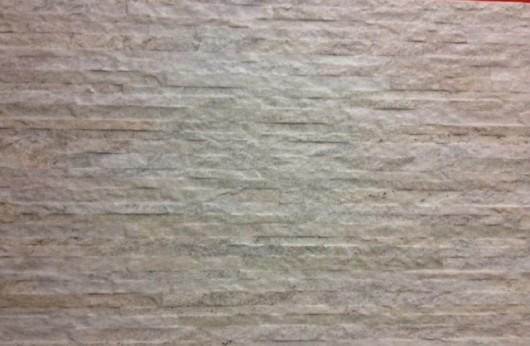 Muretto bianco sottile in gres 31x62
