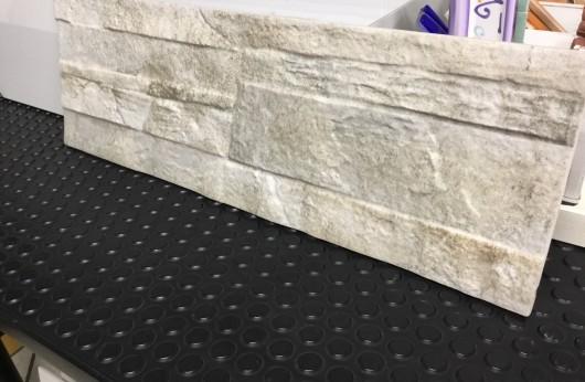 Muretto in gres effetto pietra naturale Saturn Beige 17x52