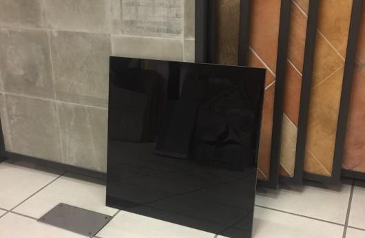 Pavimento levigato gres nero lucido rettificato