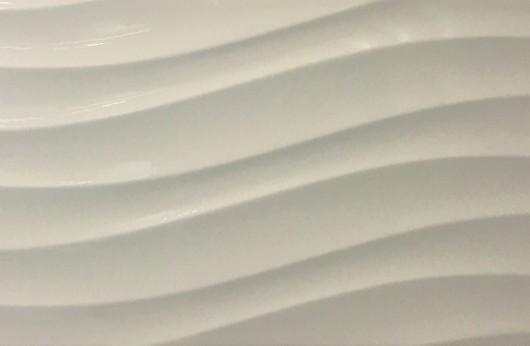 Rivestimenti Onda Bianco 25x75