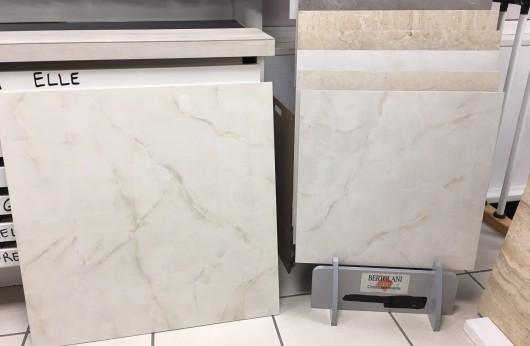 Pavimento in gres porcellanato Onice Beige effetto marmo lucido 1°Scelta