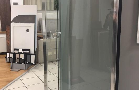 Box doccia BertEvo Parete Fissa cristallo 8mm