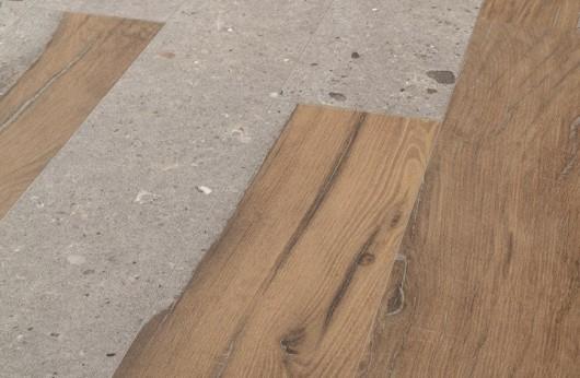 Pavimento in gres noce e pietra Alter Ego 20x120