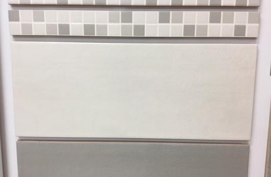Rivestimento Oxford Bianco tinta unita 20x50