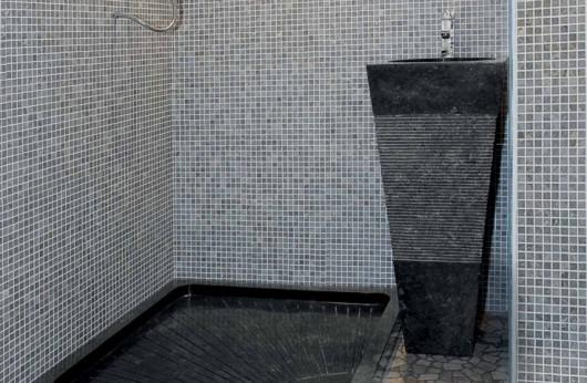 Piatto doccia Nero in marmo