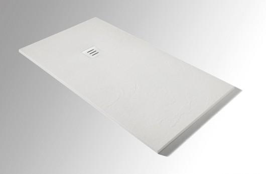 Piatto Doccia Bianco Slate 2,7 cm di spessore formato 80x120