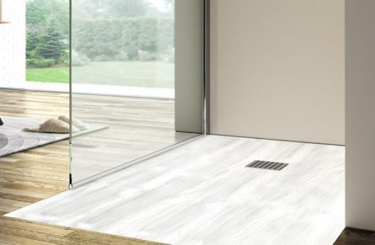 Piatto Doccia Wood Bianco