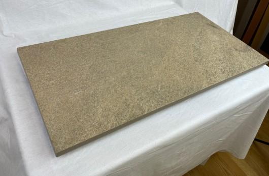 Pavimento in gres 2 cm Pietra beige 40x80