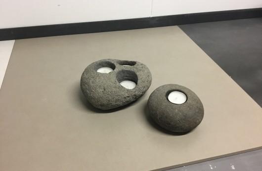 Set Portacandele Stone