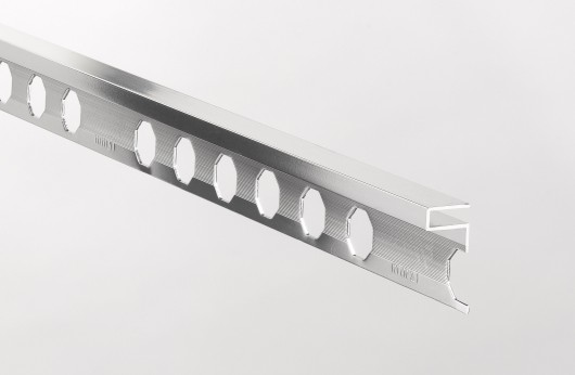 Profilo decorativo in alluminio Argento Lucido barre da 2,5 metri lineari