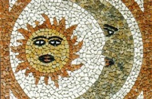 Rosone Palladiana Sole luna