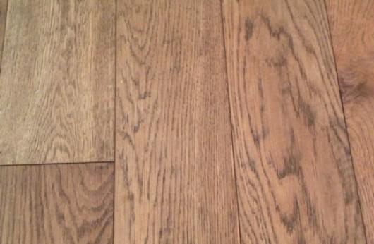 Pavimento in legno plancia in Rovere Old Verniciata opaca