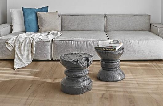 Pavimento in gres porcellanato effetto legno Rovere Ossidato Emilceramica 1°Scelta