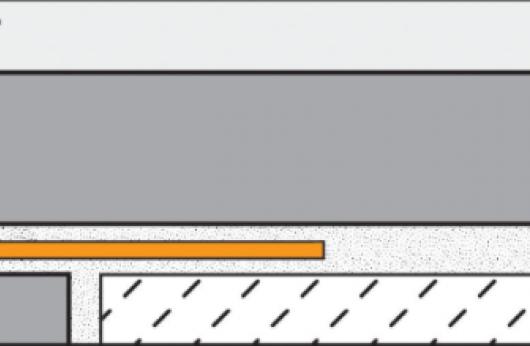Profilo in alluminio a scomparsa