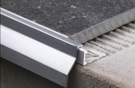 Sgocciolatoio in alluminio per piastrella
