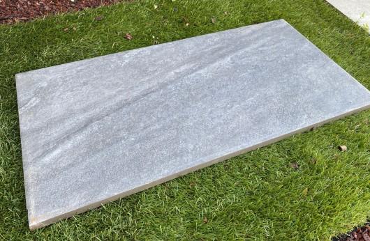 Pavimento Galleggiante Sierra Dark Grigio 2 cm di spessore 40x80
