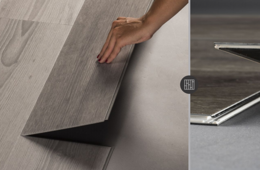 Pavimento in vinilico SPC Rovere Classico spessore 6 mm