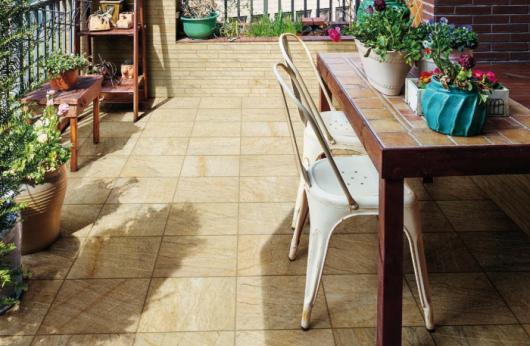 Pavimento esterno Quarzite Beige 30x60 e 30x30