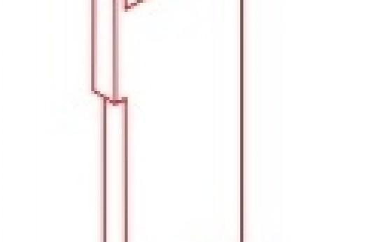 tappo chiusura per profilo decorativo led