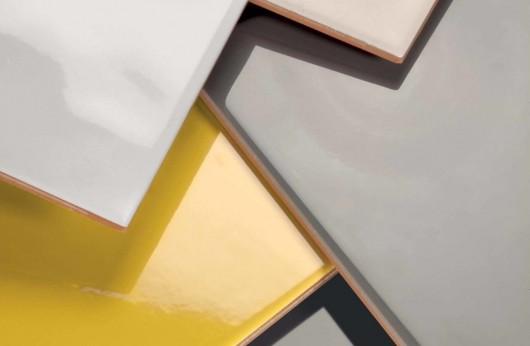 Tinta unita Bianco opaco linea Cementina 20X20