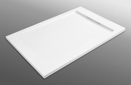 Piatto Doccia White in marmo resina spessore 3,5cm.