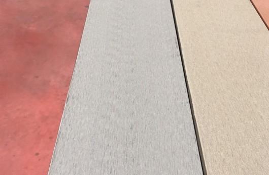 Pavimento per esterno Wpc Grigio pieno 23 mm