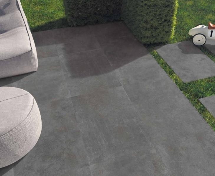 Pavimento Galleggiante Dark Grey 18 mm di spessore 60x60