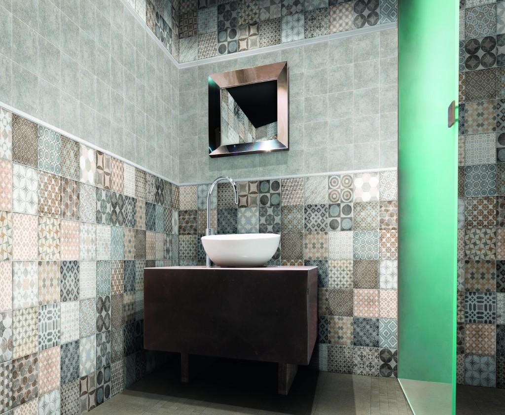 Pavimento e rivestimento in gres Basic 20x20 decorato