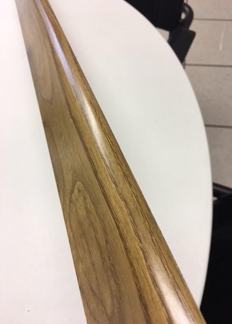 Battiscopa in mdf Marron effetto legno