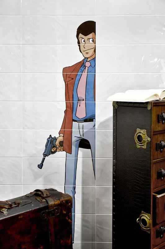 Composizione decorativa 50x180 Lupin Serie Lupin 3th