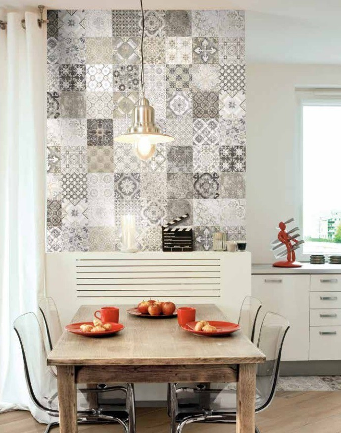 Formelle in bicottura decorate 20x40 lucide