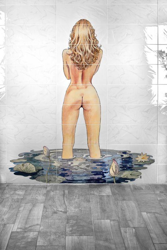 Composizione decorativa 150x180 Manara Le stanze del desiderio