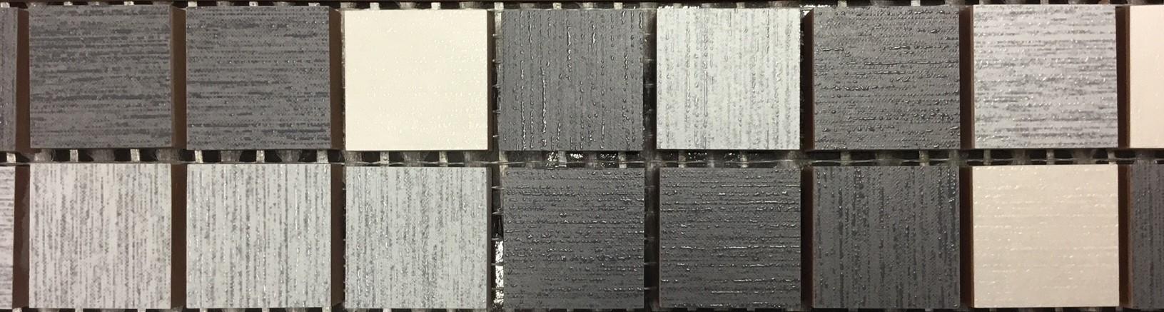 Mosaico Eleganza da rivestimento 20x50 su rete