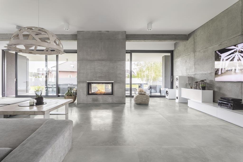 Pavimento grigio argento chiaro 60x60 rettificato Metal