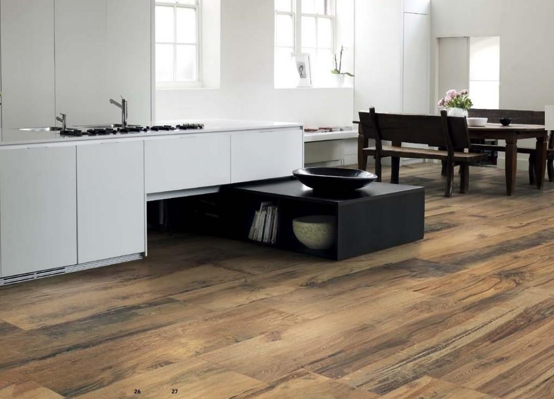 Pavimento in gres porcellanato Effetto legno Scottish Oak Emilceramica