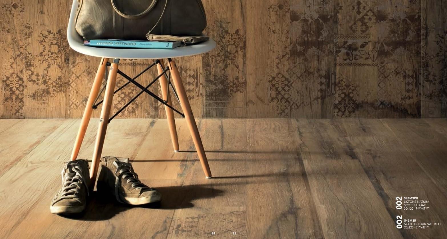 Pavimento in gres Effetto Legno Scottish Oak 15x120