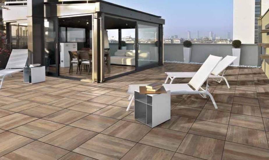 Pavimento in gres porcellanato galleggiante 2 cm. effetto legno 1° scelta