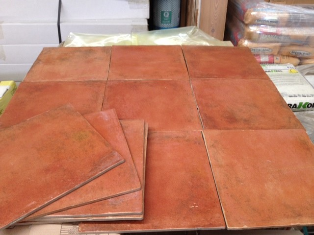 Pavimenti gres tipo cotto rosso esterno antiscivolo bertolani store