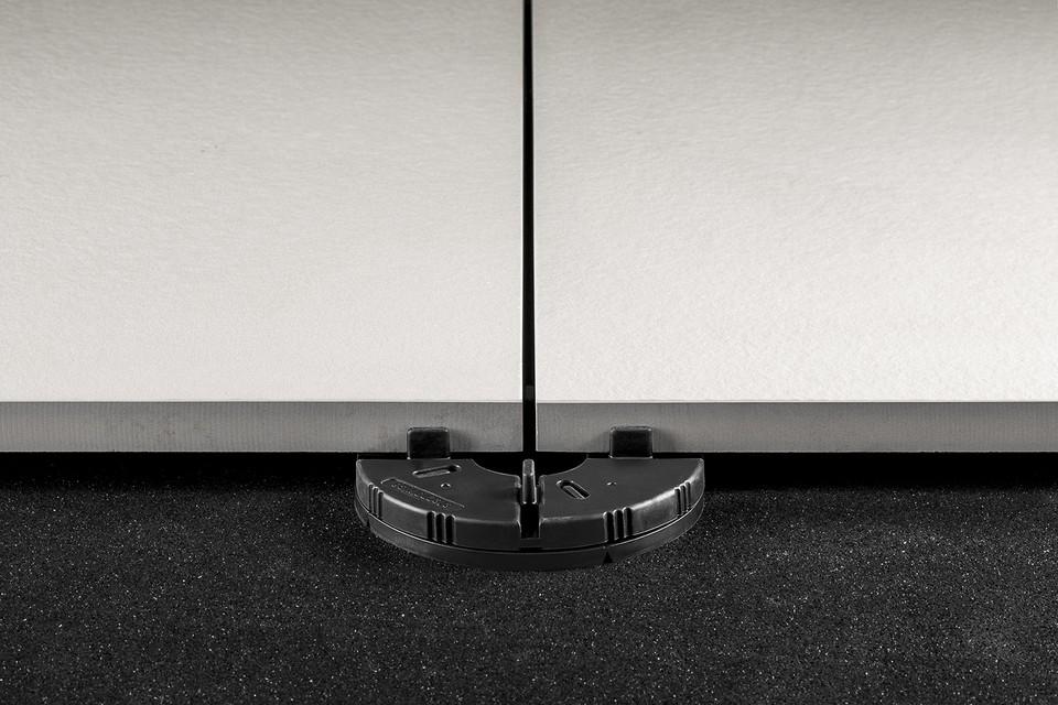 Supporto in gomma per pavimenti galleggianti da esterno bertolani