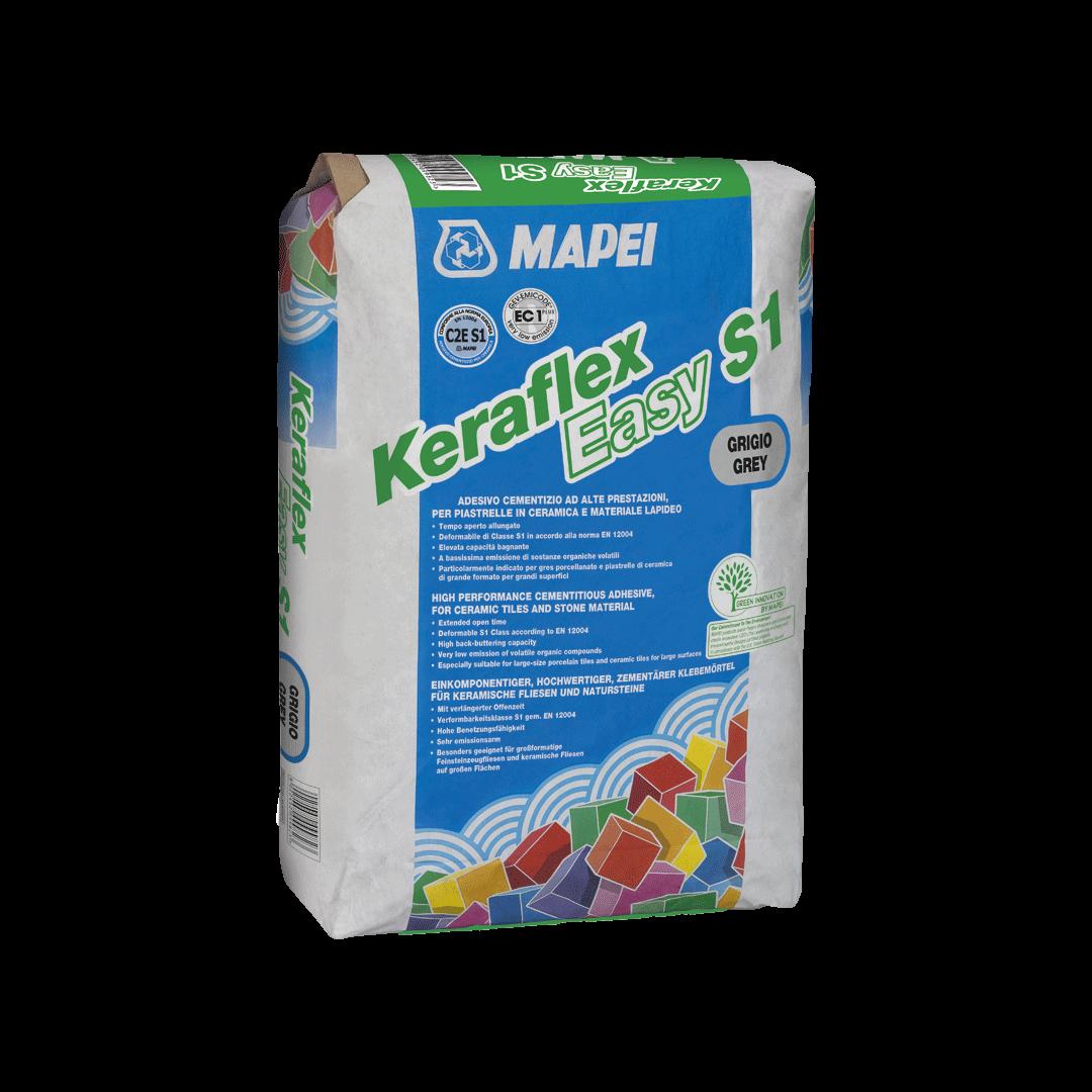Keraflex Easy S1 Novità Mapei con 1 sacco si posano 6 mq