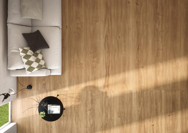 Pavimento in gres porcellanato effetto legno spessore mm