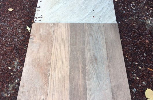 Pavimento in gres porcellanato galleggiante 2 cm. effetto legno