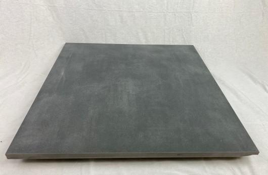 Pavimento in gres porcellanato 2 cm di spessore grigio 60x60